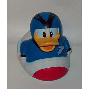 disney tub toy rubber duck donald duck space mountain