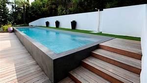nivremcom terrasse bois piscine semi enterree With marvelous terrasse piscine semi enterree 8 piscine bois ronde