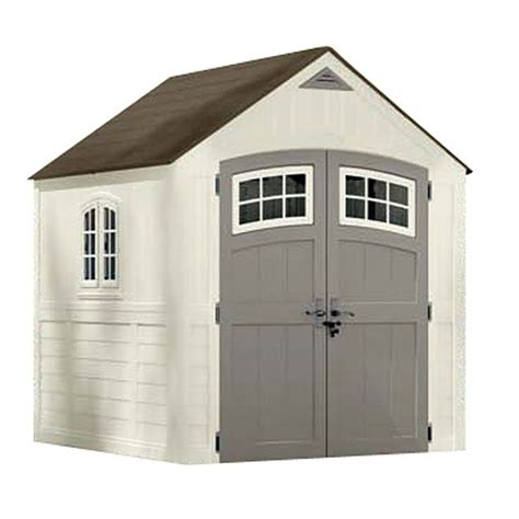 rubbermaid 7x7 storage shed assembly quot cascade quot garden shed rona 999 garden shed ideas