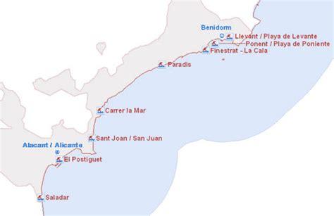 el tiempo prediccion playas alicante zona centro