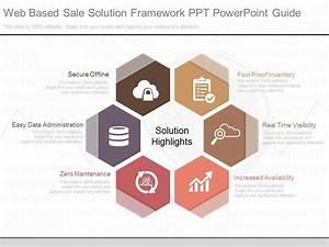 Innovative Web Based Sale Solution Framework Ppt