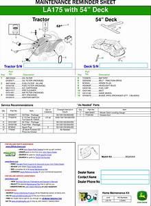 John Deere La175 Parts Diagram