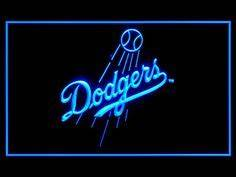 Budweiser Bud Light MLB LOS ANGELES DODGERS Neon Sign 18