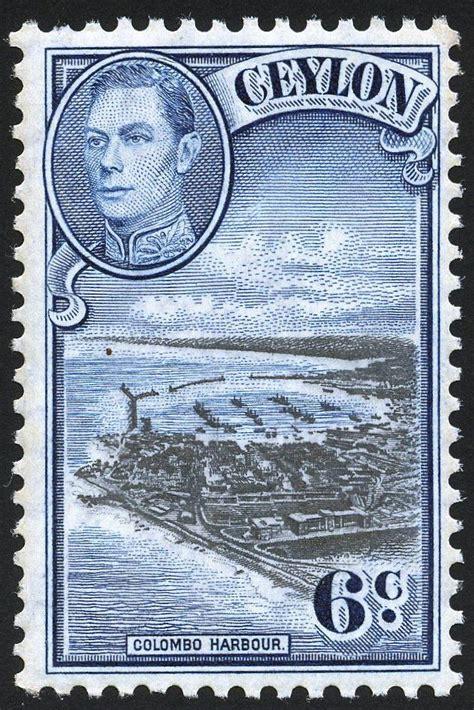Ceylon 1938-49 | Postage stamp art, Vintage stamps postage ...