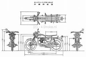 Honda Cb125 Jx Dimensions