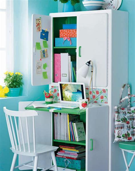 bureau d enfants un buffet transformé en bureau d enfant