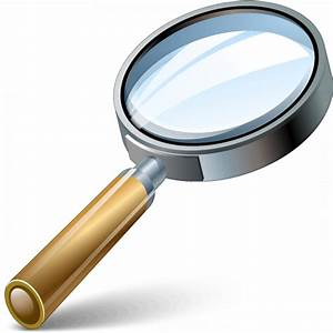 IconExperience » V-Collection » Magnifying Glass Icon