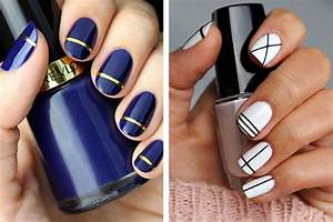 Easy Nail Art Ideas for Beginners at Home - How To Do ...