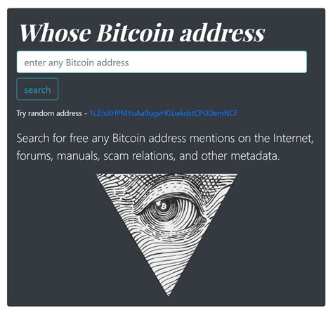 How do i create a new. How To Find Bitcoin Address Owner | Earn Free Bitcoin In A Second