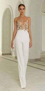 jumpsuit wedding white jumpsuit for wedding oasis fashion