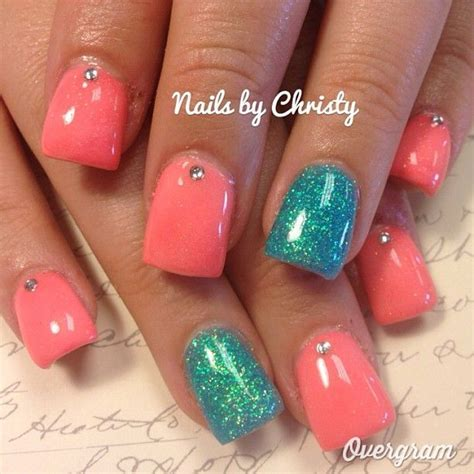 beach nails  pictures ongles en  nails