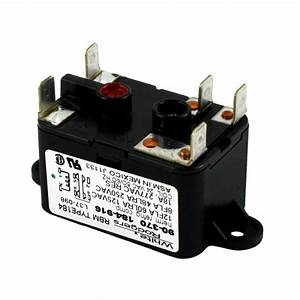 White Rodgers 24-volt Coil-voltage Spdt Rbm Type Relay-90-370