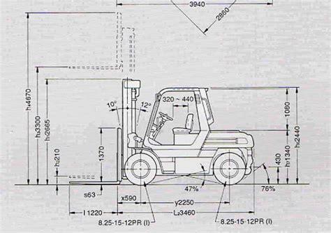 toyota  fd    specificaties technische