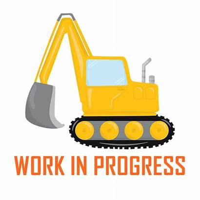 Excavator Construction Progress Zone Throw Transparent Pillow