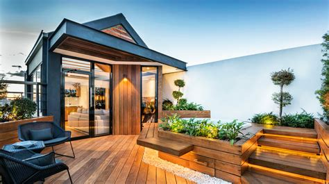 tiny homes interior designs the stunning and practicality of rooftop gardens