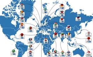 Le De Cing Decathlon by Un R 233 Seau Mondial Dense Et Diversifi 233 Grande