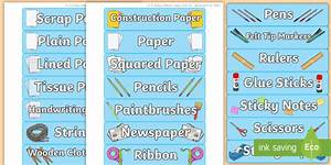 Download Avery Template Classroom Equipment Avery Signs And Labels Drawer Labels