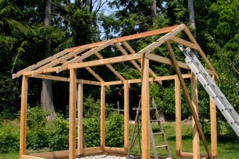 post  beam greenhouse   build diy blueprints
