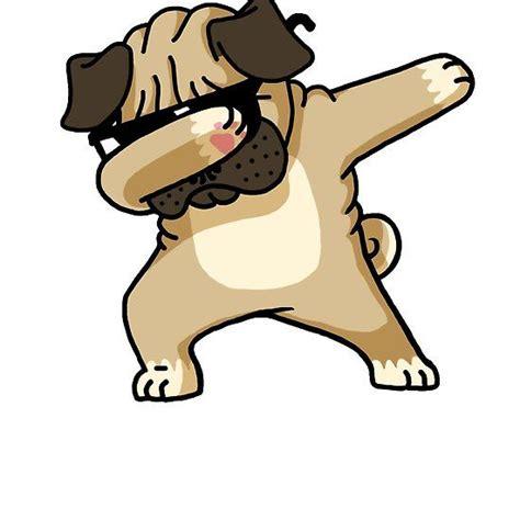 dabbing pug shirt cute funny dog dab  shirt pugs