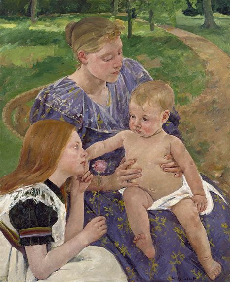 previous next the family cassatt the family ca 1892 on canvas 71 498 though