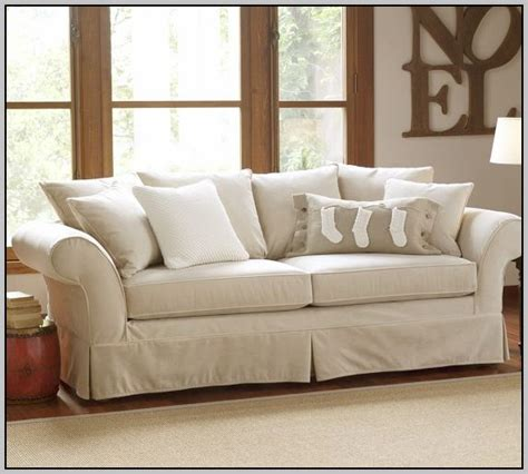 pottery barn sleeper sofa sleeper sofa pottery barn pb comfort roll arm slipcovered