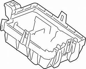 Chevrolet Sonic Fuse Box Cover  Lower
