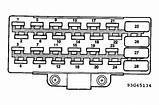 96 Jeep Grand Cherokee Limited Fuse Panel Diagram