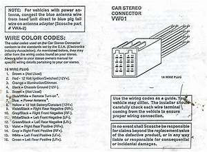 2001 Vw Jetta Radio Wiring Diagram
