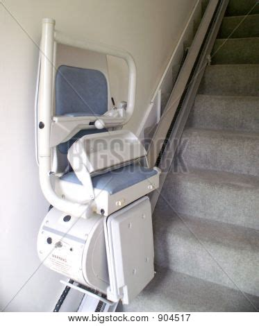 stair chair lift stock photo stock images bigstock