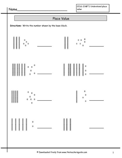 Base Ten Blocks Addition Worksheets  Base Ten Blocks Worksheetsdecimal Place Value Worksheets
