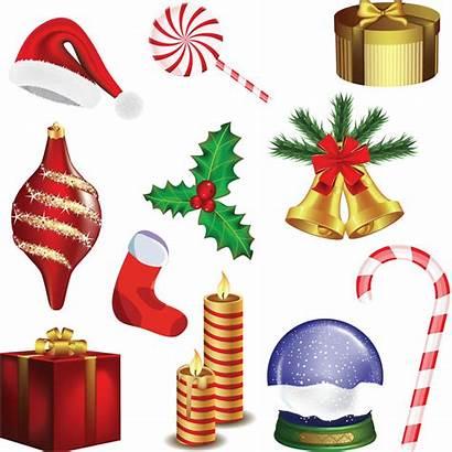 Christmas Clip Clipart Decorations Vector Xmas Decoration