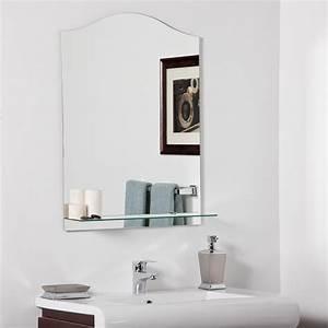 decor wonderland abigail modern bathroom mirror beyond With bathroom morrors