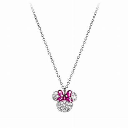 Minnie Mouse Necklace Bow Icon Disney Arribas