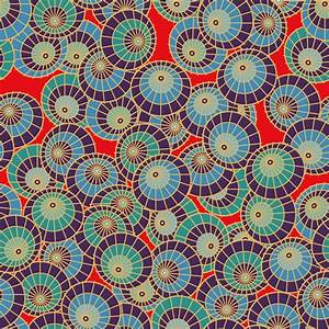 Japanese pattern background Free Vector / 4Vector