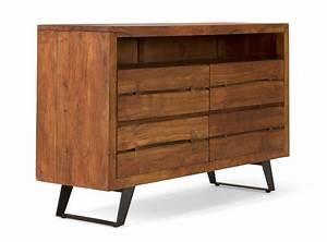 meuble bas bois massif maison design wibliacom With meuble bas cuisine 120 cm 8 meuble dangle cuisine comparer les prix avec le guide