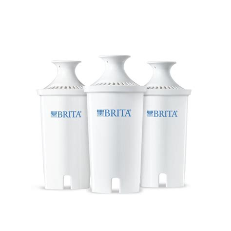 brita replacement water filter for pitchers 3 count from