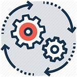 Icon Management Project Process Program Cycle Icons