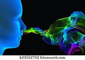 sense smell clipart  stock illustrations  sense