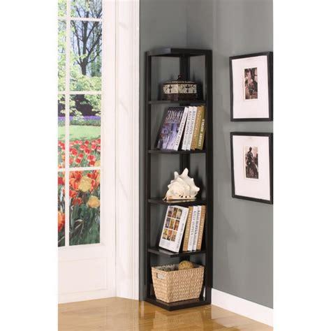 bookshelves design unique and stylish corner shelf design ideas modern corner book shelves deesign with 5 tier
