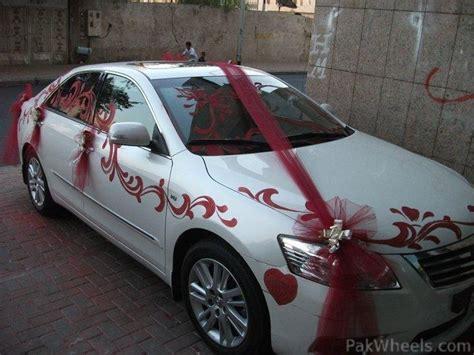 wedding car decoration theknotstory