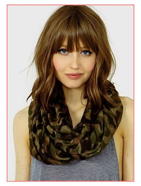 womens haircuts with bangs top haircuts medium hairstyles 2018 with bangs best