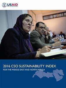 2016 Civil Society Organization Sustainability Index for ...