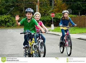 Child Riding A Bicyclemanunez