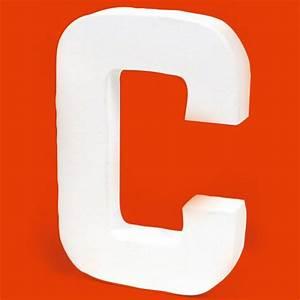 Lettre En Carton À Peindre : lettre en carton c lettre en carton 20 cm creavea ~ Nature-et-papiers.com Idées de Décoration
