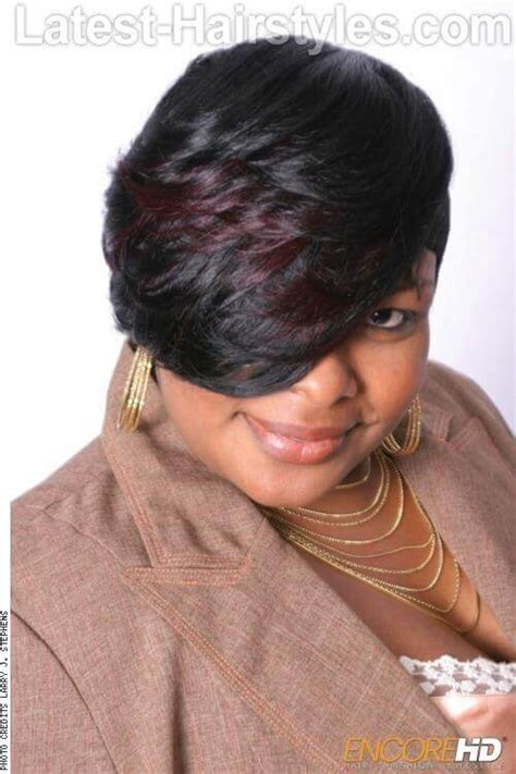 black womens hot hairstyles  square faces