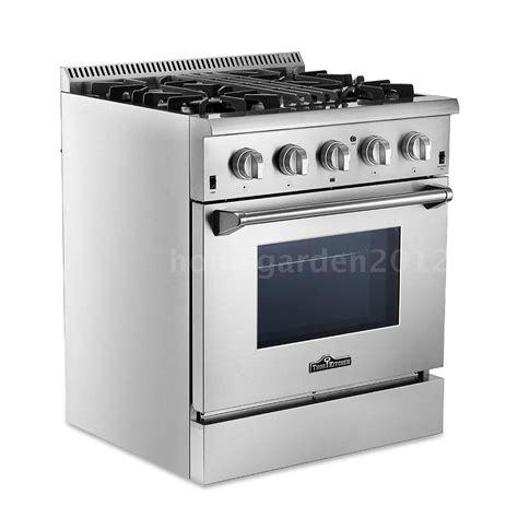 thor kitchen hrd3088u 30 quot 4 burner dual fuel gas range electric oven q6m1 ebay