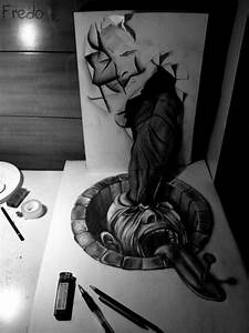 Mind Blowing 3D Pencil Drawings (5)