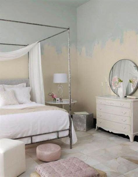 two color wall painting ideas for beautiful bedroom decorating