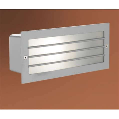 eglo eglo 88576 zimba 1 light outdoor recessed wall light