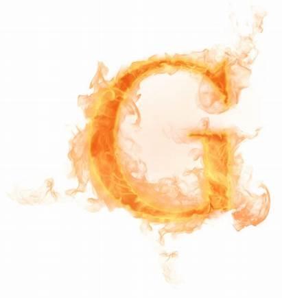 Letter Burning Psd Transparent Fogo Fire Letras